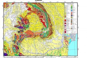 Baza de date GIS pentru harta geologica 1:1M