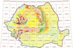 Baza de date GIS pentru harta geologica 1:200k