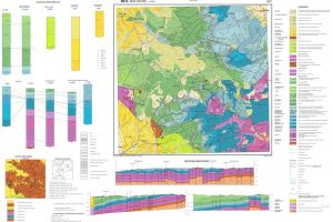 Baza de date GIS pentru harta geologica 1:50k
