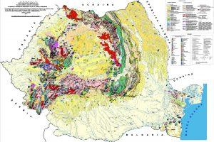 Baza de date GIS pentru substante minerale utile 1:500k