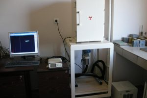 Gamma spectrometer systems with HPGe detector