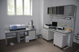 Infrared absorption spectrometer with Fourier transform, Type Bruker Tensor 27