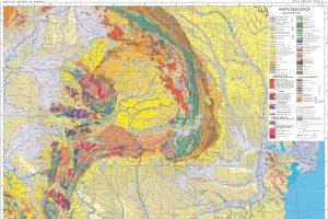 Harta geologică 1:1.000.000